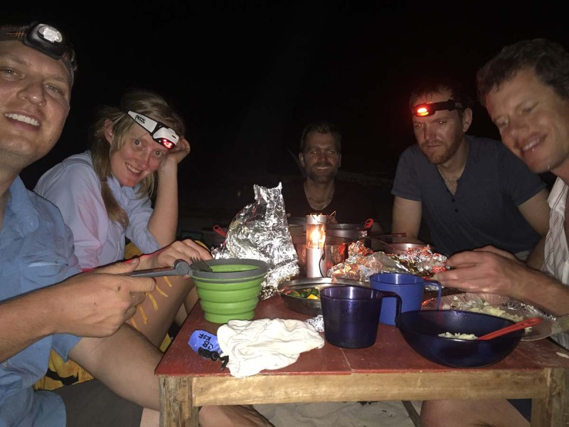 Dinner on Sibolan