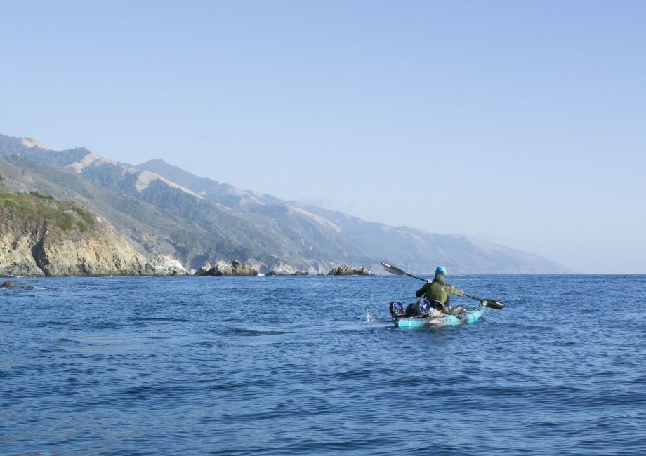 Kayaking the Big Sur Coast