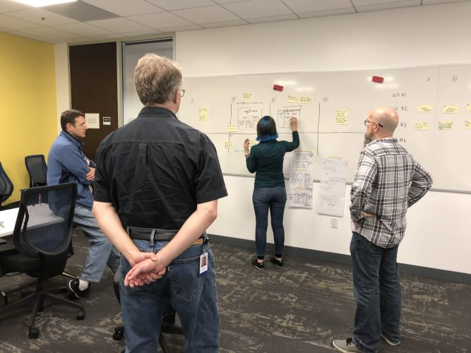 Design Sprint - Storyboarding